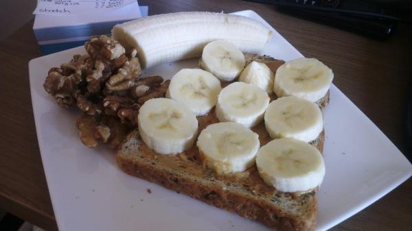bread with banana